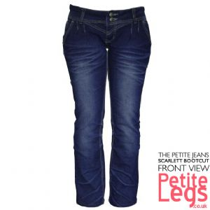 Scarlett Bootcut Jeans | UK Size 8-10 | Petite Leg Inseam 27.5 inches